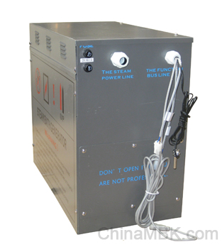 Durability of our steam room generators with rust proof iron material