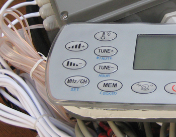 Hot tub controller 3water pumps 1water recycle pume and 1air pump